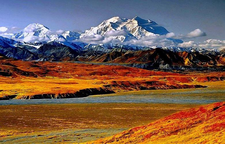 Мак-Кинли / Денали (Mont McKinley / Denali, 6194 м), Аляска, США
