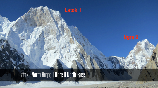 Латок I (Latok I). Северная стена