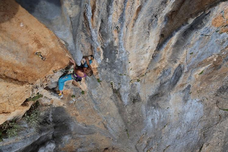 Нифада, новый сложный скалолазный сектор в районе Леонидио (Греция)