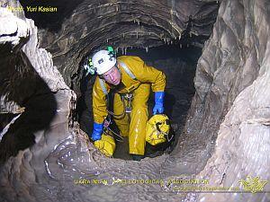 Глубочайшая пещера мира Крубера-Воронья в фотографиях