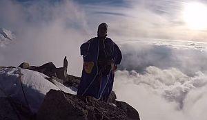 Валерий Розов: Бэйс джампинг с одной из самых знаменитых вершин Альп - Пти Дрю