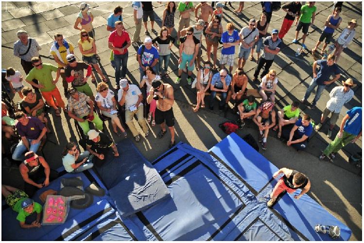 Фото репортаж с Чемпионата Украины 2015 по боулдерингу в Каменце-Подольском