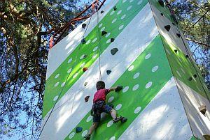 Житомирские альпинисты и скалолазы организовали в городе Скайпарк