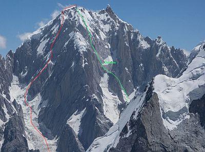 Впервые в истории покорена Западная вершина горы Линк Сар (Link Sar) в Пакистане