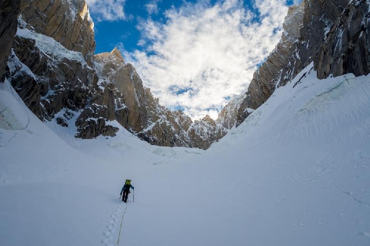 восхождение на Западную вершину пика Линк Сар (Link Sar). маршрут Fever Pitch