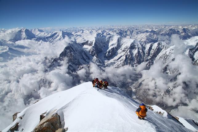 На вершине Аннапурны. Фото Мингма Шерпа (Mingma Sherpa), 24 марта 2015 года