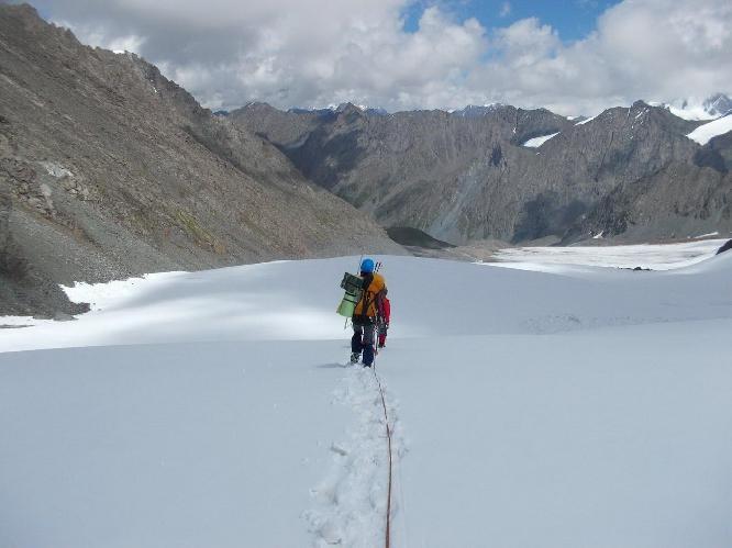 ледник Чон-Узень Западный