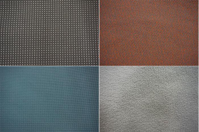 подкладки softshell курток разных типов