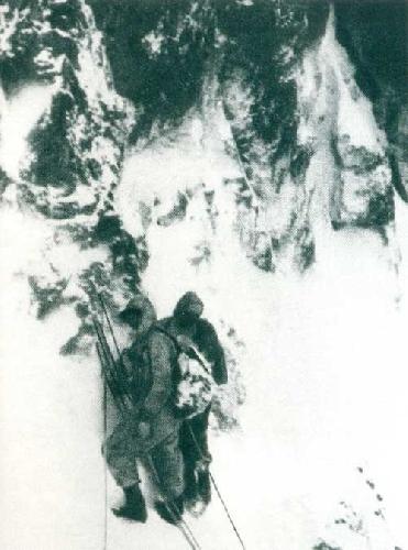 Перед выходом на ледовый купол