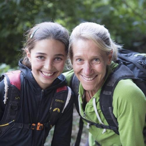 Робин Эрбешфильд-Работу (Robyn Erbesfield-Raboutou) с дочерью Брук Работу