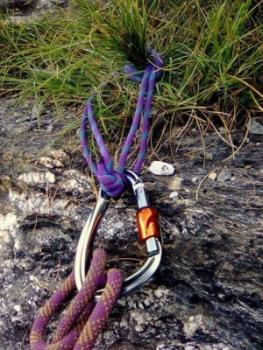 Страховка через спусковые петли в альпинизме