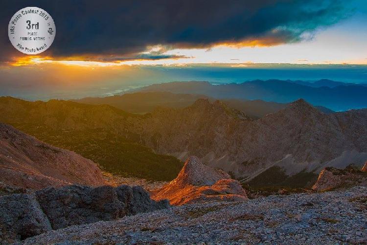 Рассвет на Кредарике. Фото © Anna Palfi / IMS Photo Contest 2015 by DJI