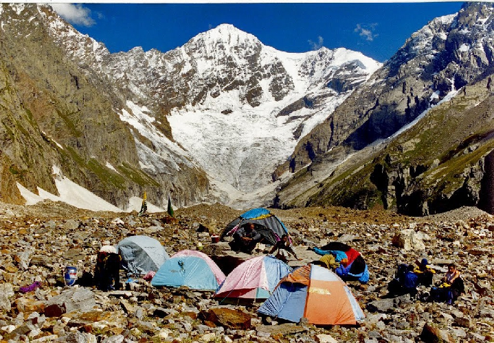 пик Шарвали (Тоши Ри) (Sarwali Peak / Toshi Ri), 6326 м Южная стена