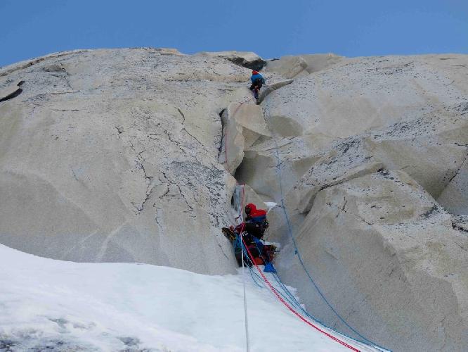 "На маршруте ""Askatasun Taupadak "" на вершину Thalay Sagar в Индийских Гималаях"