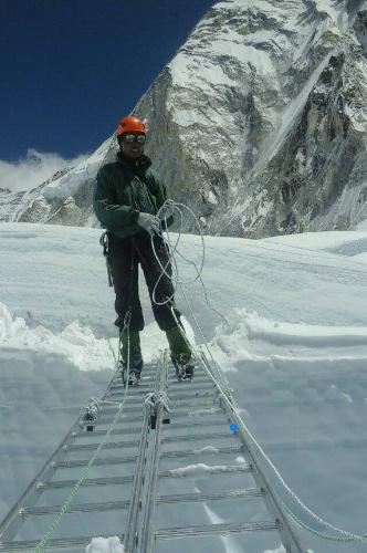 Нима Дорчи Шерпа (Nima Dorchi): работа на ледопаде Кхумбу