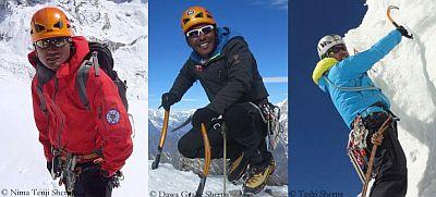 Впервые в мире непальские шерпы открывают новые вершины в Гималаях!
