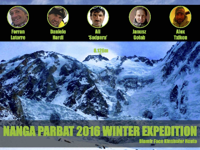 "Состав команды ""Nanga Parbat 2016 Winter Expedition"""