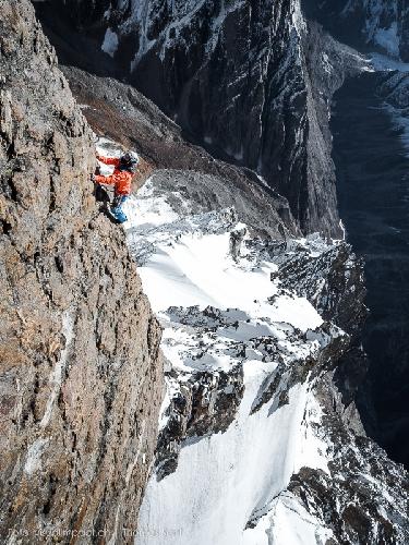 восхождение на гору Те