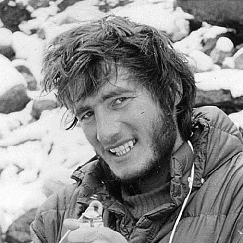 Марьян Манфреда (Marjan Manfreda) в экспедиции на Макалу. 1975 год