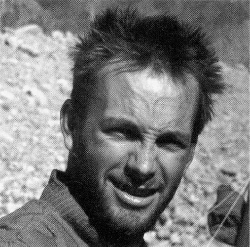 """Штан Белак (Stane Belak) по кличке """"Шрауф"""" (Šrauf) в экспедиции на Макалу. 1975 год"""