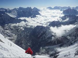 Осень 2015 на восьмитысячниках Гималаев: корейская команда остановилась на отметке 7850 метров