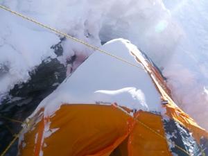 Осень 2015 на восьмитысячниках Гималаев: корейская команда на отметке 8100 метров