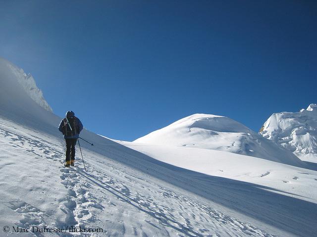 К вершине горы Сарибунг (Saribung Peak) высотой 6328 метров