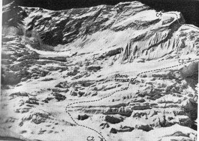 Оригинальный маршрут японской команды 1971 года