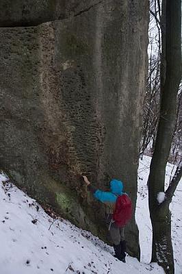 В поисках интересных скал Украины: скалы в Межибродах