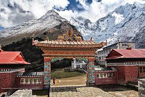Непальские дневники. Монастырь в Тенгбоче.