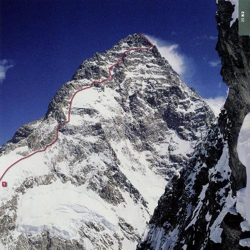 К2. маршрут 1981 года