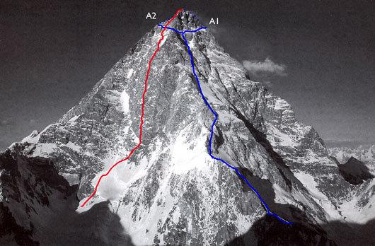 К2. маршрут А1 - оригинальная линия 1981 года