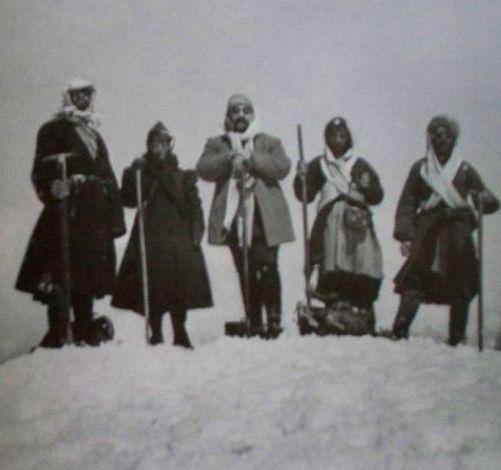 Альпинисты начала ХХ века