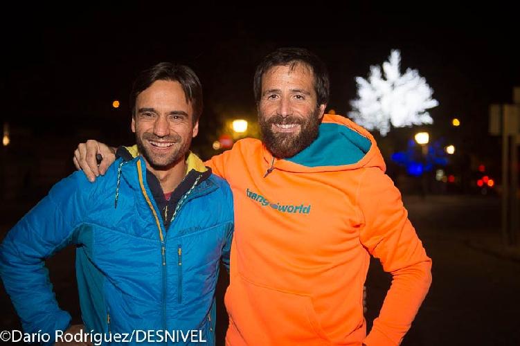 Даниэль Нарди (Daniele Nardi) и Алекс Тикон (Alex Txikon)