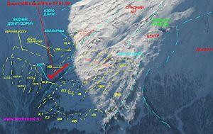 Подробности гибели российских лыжников на горе Чегет 7 января 2016 года