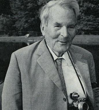 Гюнтер Оскар Диренфурт (Günter Oskar Dyhrenfurth) на Интернациональной встрече альпинистов в 1969 году