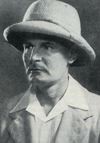 Гюнтер Оскар Диренфурт (Günter Oskar Dyhrenfurth) в тридцатые годы в качестве исследователя Гималаев