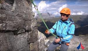 Самостраховки в альпинизме: динамические и для позиционирования.