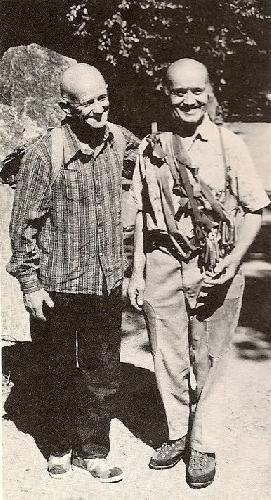 Абалаков и Висснер - два гиганта альпинизма