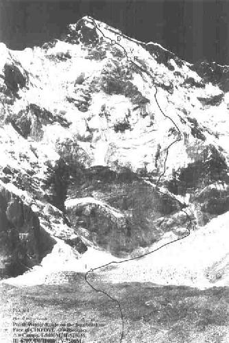 Чо-Ойю. Польский маршрут зимой 1985 года