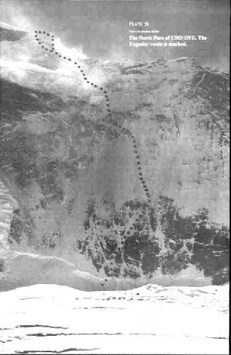 Чо-Ойю. Словенский маршрут 1988 года