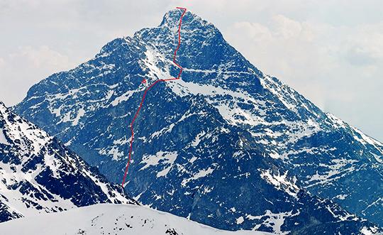 """маршрут """"Wild and Beauty"""" по Северной и Северо-Западной стороне горы Кривань (Krivan, 2494 м) в Словацких Высоких Татрах"""