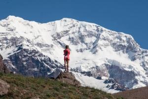 Фернанда Масиель планирует установить новый скоростной рекорд восхождения на Аконкагуа