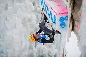 На Юношеском Чемпионате Мира по ледолазанию украинец Сафонов Кирил занял шестое место