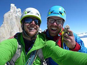Новый британский маршрут в Патагонии на вершину Aguja Bifida Sur