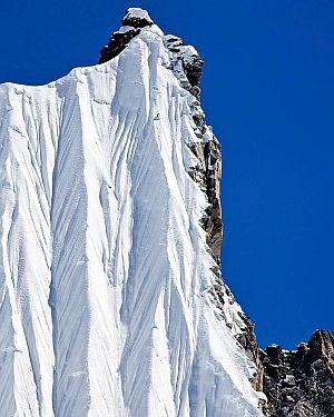 Фото дня: Сноубордист в Непале