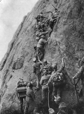 Фото дня: альпинизм и Первая мировая война