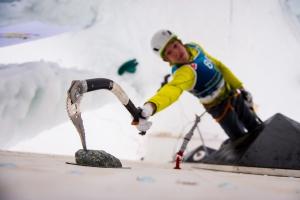 Ледолазание на Юношеских Олимпийских играх в Лиллехаммере