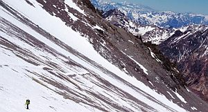 У вершины Аконкагуа погиб 76 летний японский альпинист