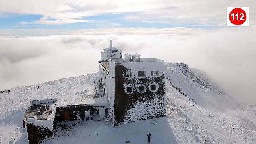 обсерватория на г. Поп-Иван Черногорский. Фото www.facebook.com/chornogora.rescue112